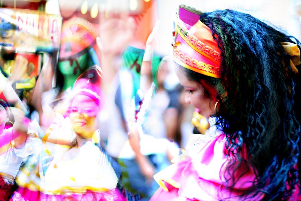 Dupla exposição de Carnaval